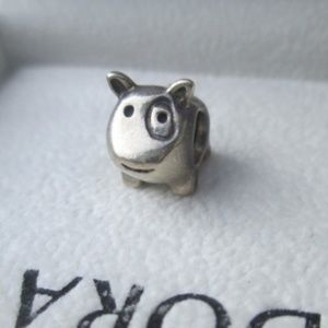 Authentic Pandora Doggie Charm dog 925 ALE cute :)